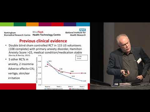 Dr. Richard Morriss: Alpha Stim for Generalized Anxiety Disorder