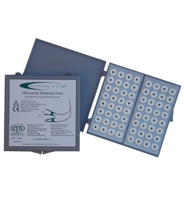 Earclip electrode pads