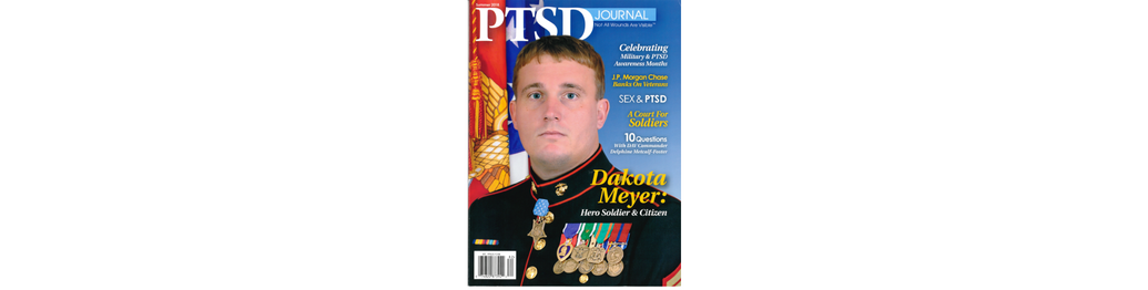 Dakota Meyer Featured in PTSD Journal