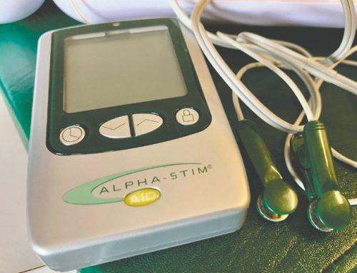 An alternative treatment: Alpha-Stim treatment can feel like a Bahamas vacation