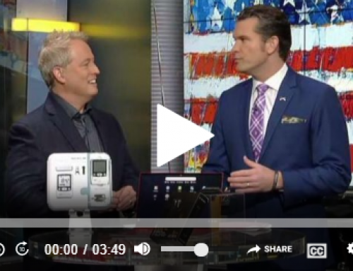 Kurt 'The CyberGuy' from FOX & Friends features Alpha-Stim in his CES Roundup